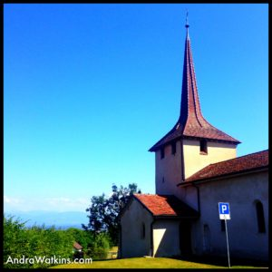 Church in Trelex Switzerland