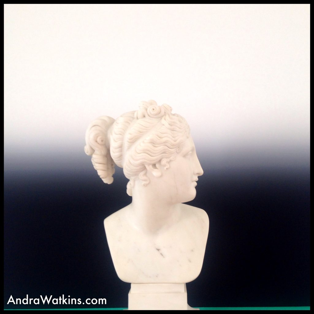 bust by Canova in Nyon Castle