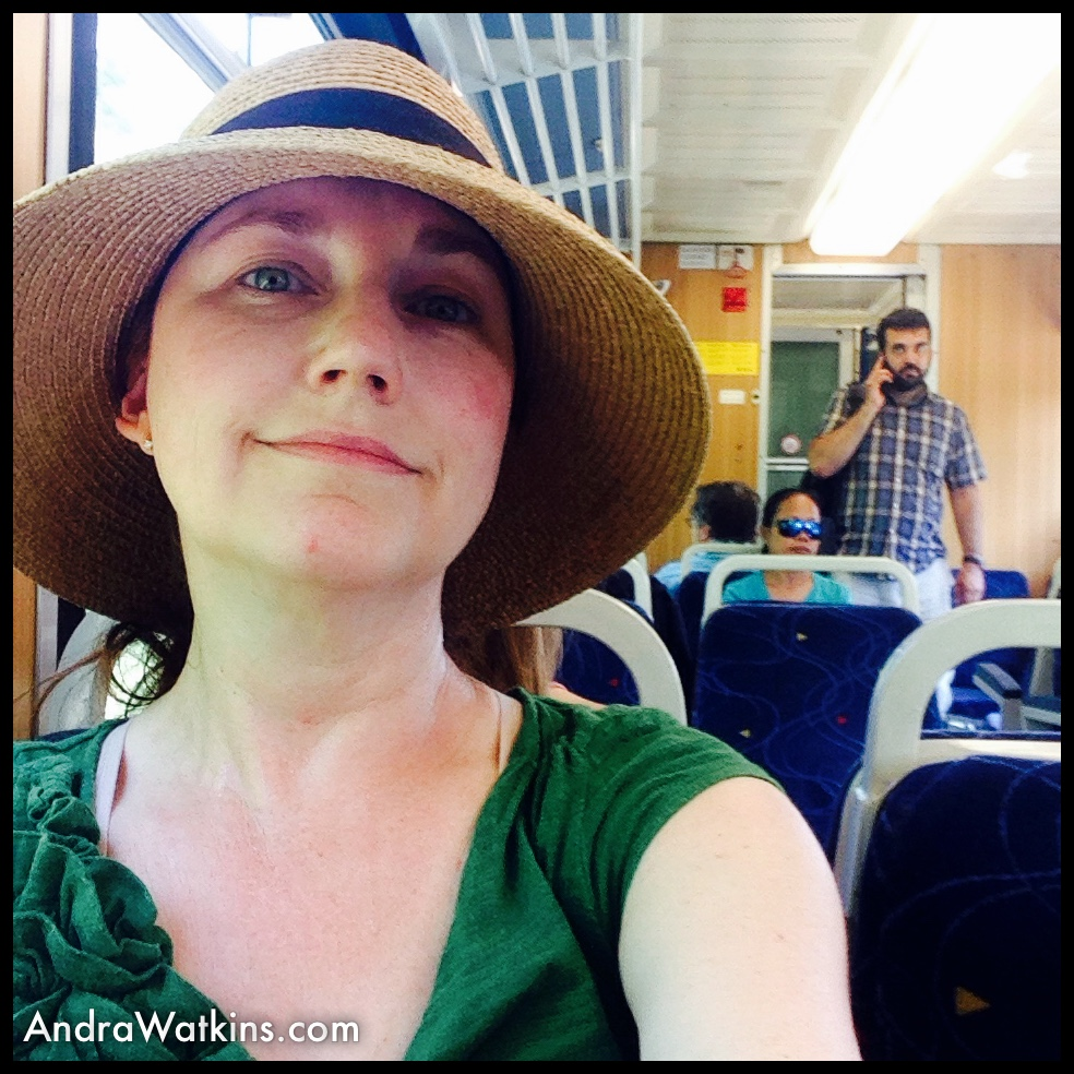train from Nyon Castle to Trelex Switzerland