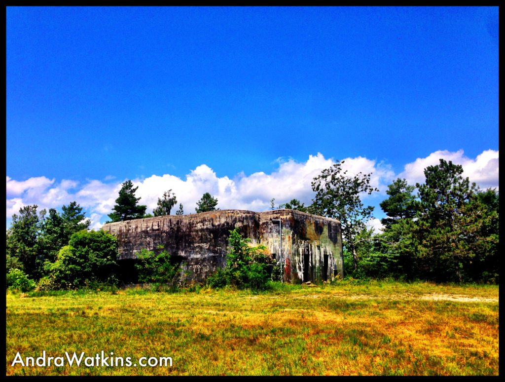 World War II bunkers also stand sentinel near the Toblerone Line. Most are abandoned, like this one.