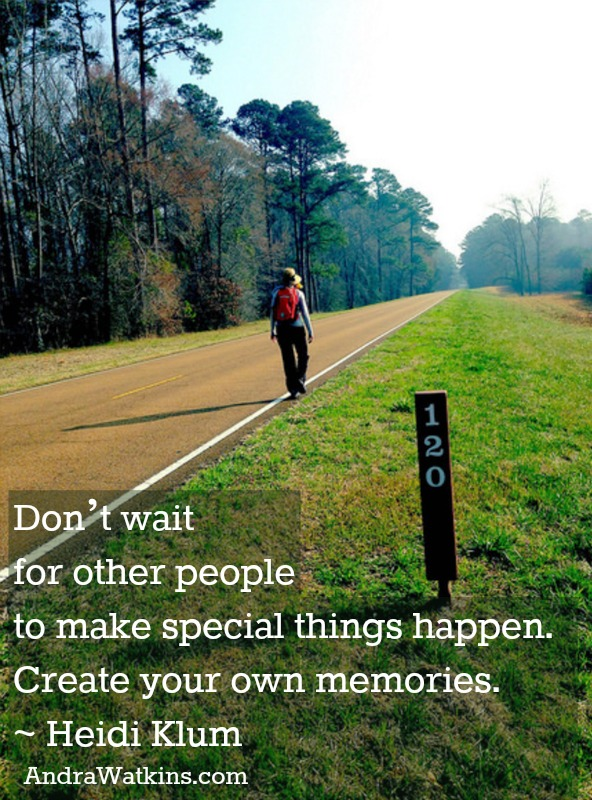 Don't Wait For Other People